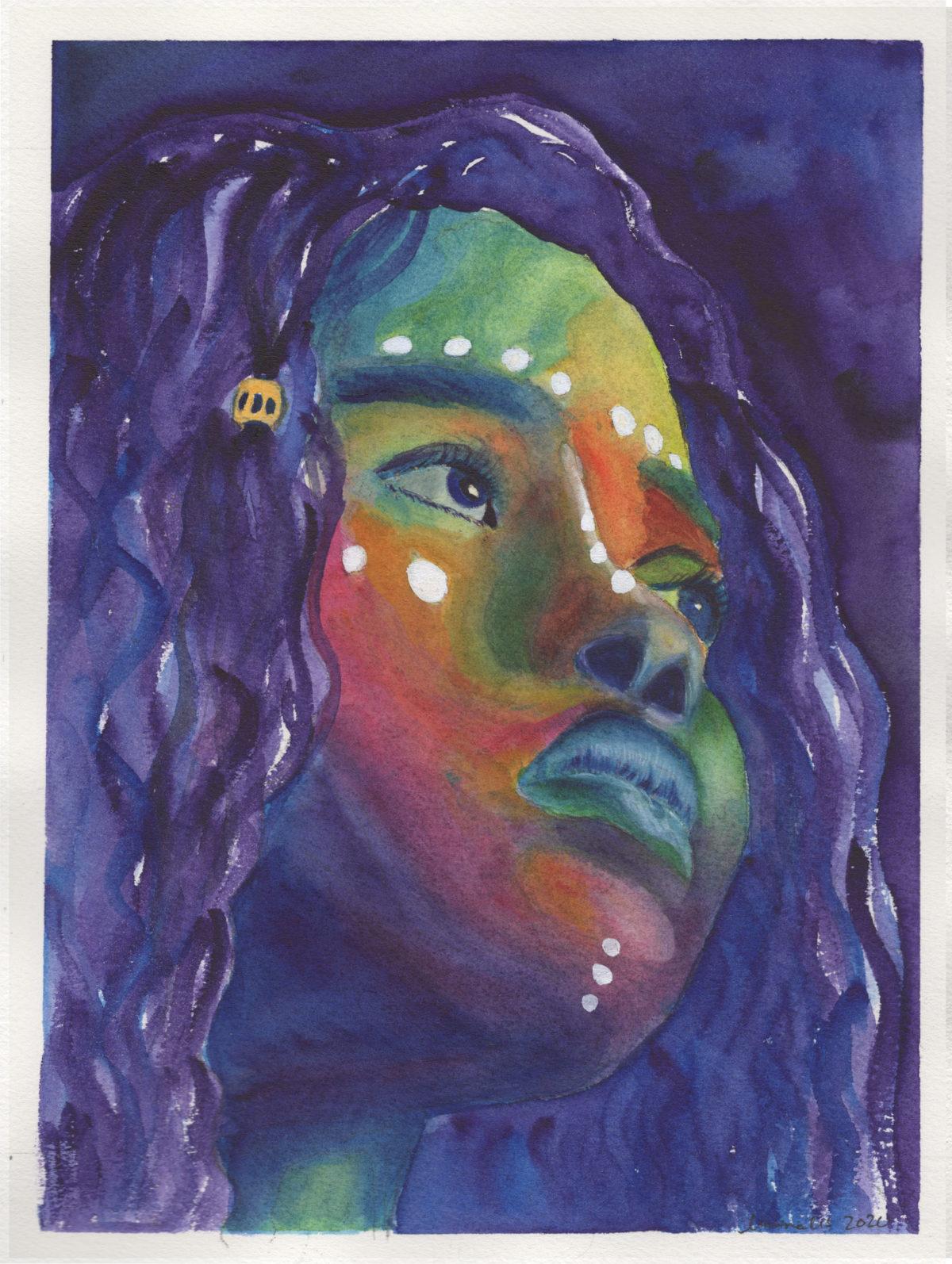 Untitled Rainbow Portrait